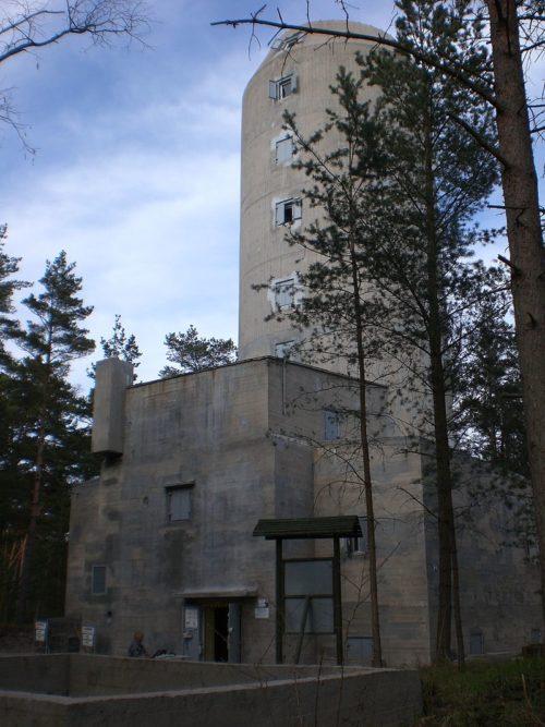 Башня управления огнем батареи «Шлезвиг-Гольштейна».