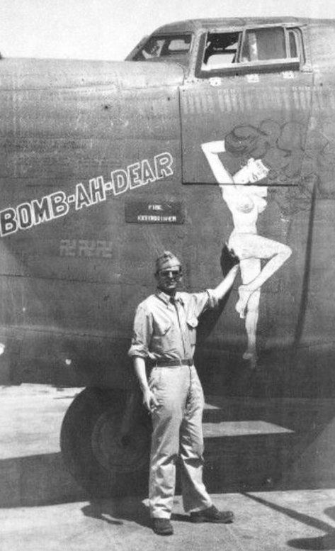 «Рin-up» на военных фотографиях.