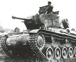 Шведский танк М/42. 1943 г.