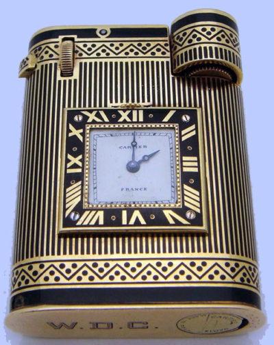 Зажигалка «Watch» фирмы «Cartier». Модель 1930-го года.