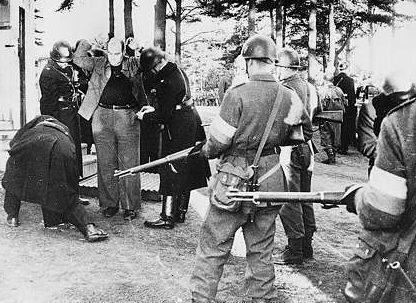 Экстрадиция пленных немцев и прибалтов в Советский Союз. Январь 1946 г.