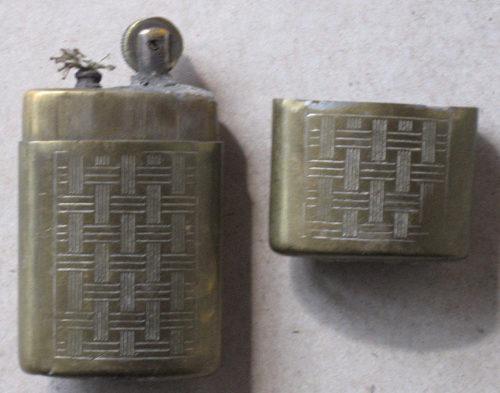 Зажигалка фирмы Fujiama, выпускалась в 1930-х годах.