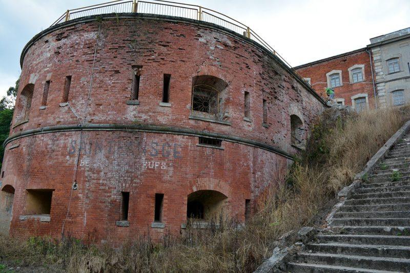 Башни фортов.