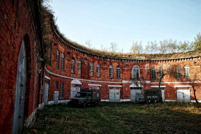 Внутренние дворы крепости.