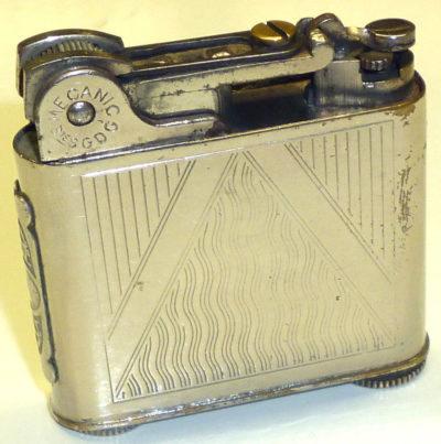 Зажигалки «Le Mecanic» фирмы Lereche, выпускались в 1935-м году.
