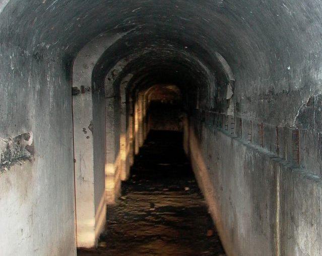 Подземелья крепости.
