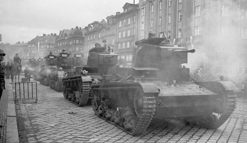 Польская армия захватывает Тешинскую Силезию.1938 г.