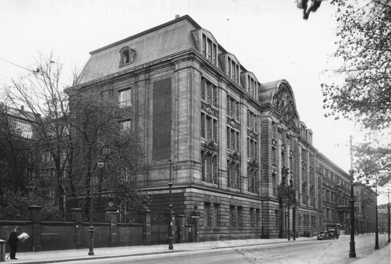 Здание Гестапо в Берлине на улице Принца Альбрехта. 1933 г.