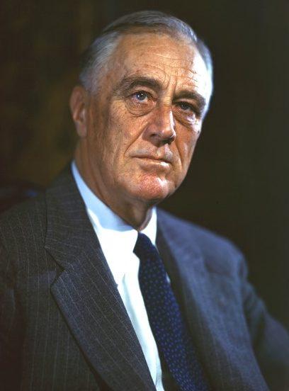 Франклин Рузвельт в 1944 г.