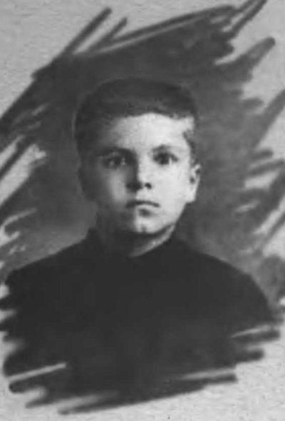 Вячеслав Скрябин (Молотов) в детстве. 1903 г.