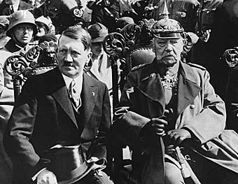 Гинденбург и Гитлер. 1932 г.