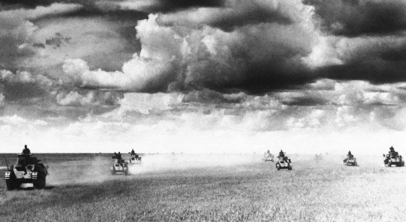 Танковая атака японцев. 1939 г.