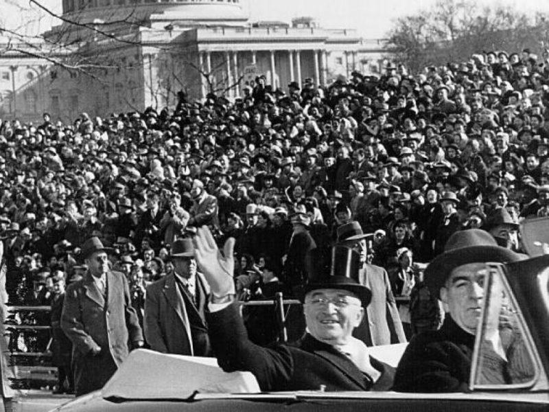 Инаугурация Трумэна. 1949 г.
