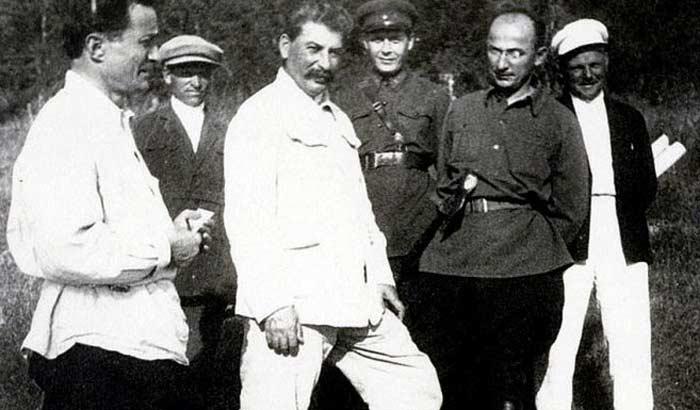 Сталин и Берия 1913 г.