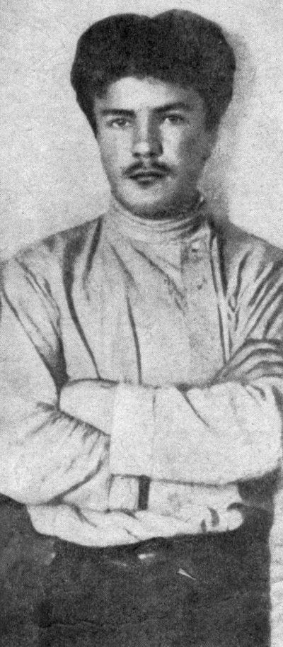 Вячеслав Скрябин (Молотов) в вологодской ссылке. 1909 г.