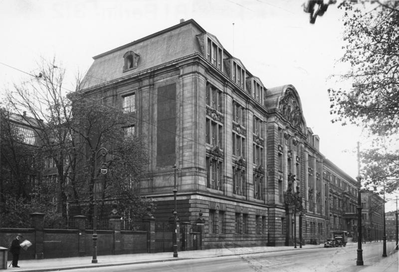 Главный офис RSHA в Берлине.