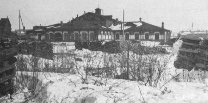 Каргопольские казармы. 1931 г