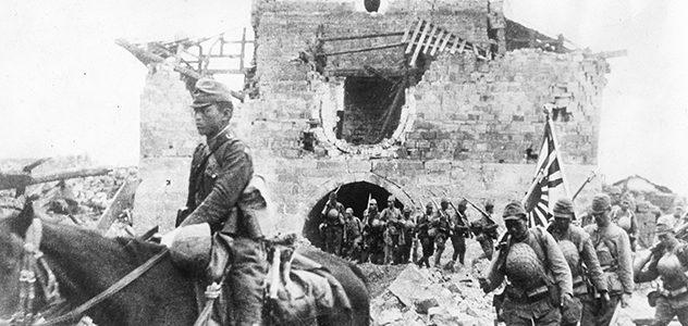 Войска Гоминьдана в карательном походе.