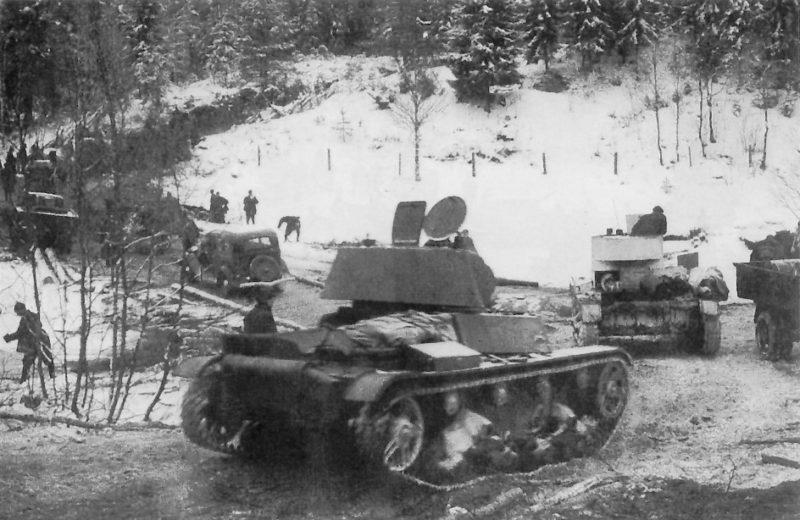 Наступление Красной Армии в Карелии. Декабрь 1939 г.