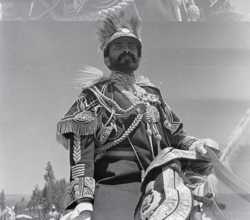 Эфиопский император Хайле Селассие I в 1934 году.