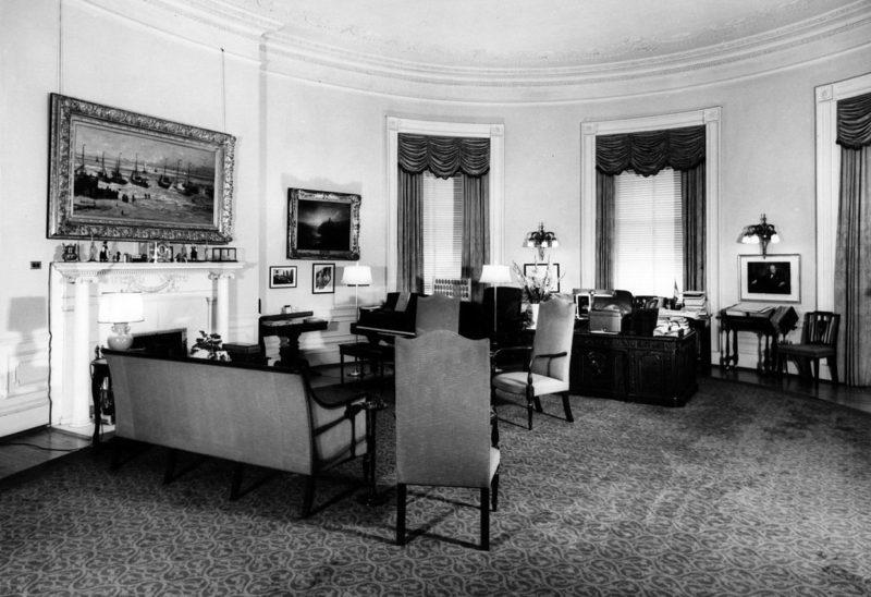Кабинет президента в библиотеке Трумэна.