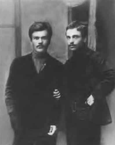 В.Молотов и Н. Мальцев. 1911 г.