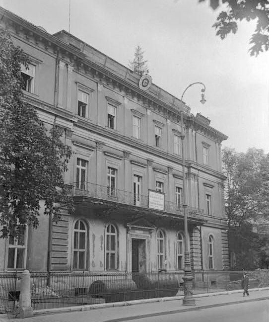 Первый Штаб партии в Мюнхене.