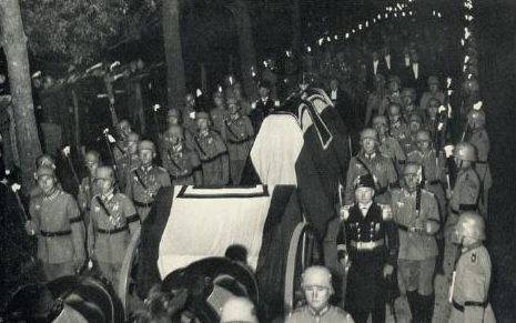 Похороны Гинденбурга. 2 августа 1934 г.