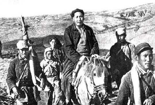Мао Цзэдун – лидер коммунистов во время Великого похода.