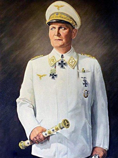 Герман Геринг – генерал-фельдмаршал.