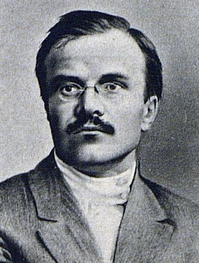 Вячеслав Скрябин (Молотов) в 1917 году.