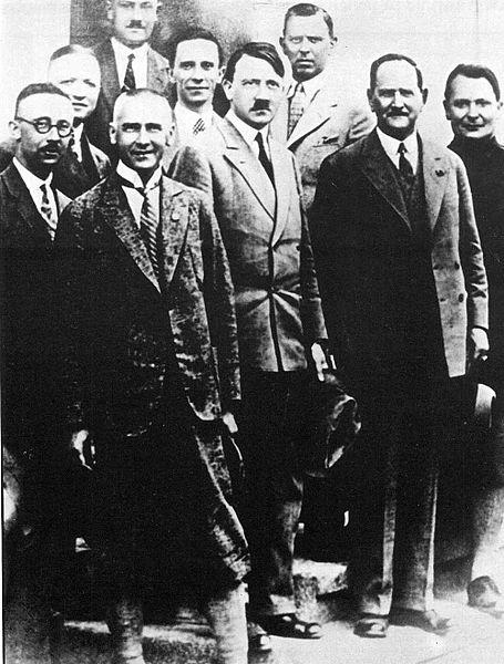 Руководство НСДАП в конце 1920-х годов.