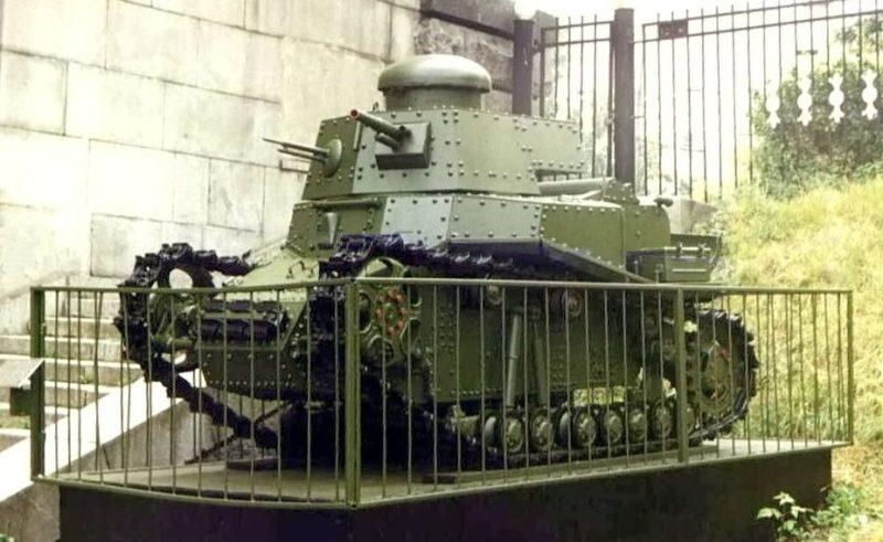 Музейный образец танка Т-18 (МС-1).