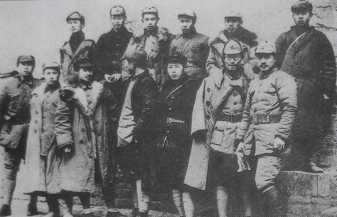 Бойцы 2-й Красной Армии.