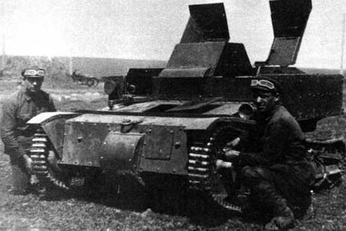 Танкетка Т-27.