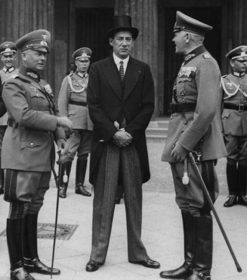 Бек и немецкие генералы. 1938 г.