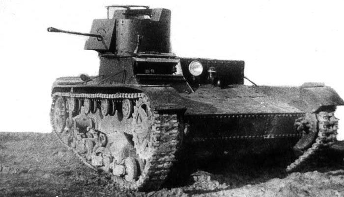Химический танк ХТ-26.