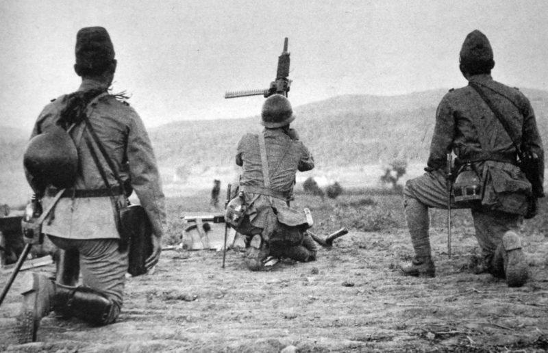 Японские зенитчики. 1938 г.