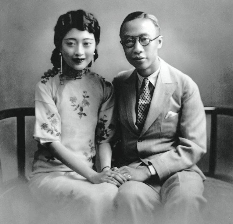 Пу И с одной из жен - Ван Жун.