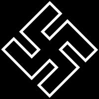 Поздний вариант знака на киль 1939-1945 гг.