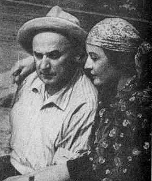 Берия с женой. 1939 г.