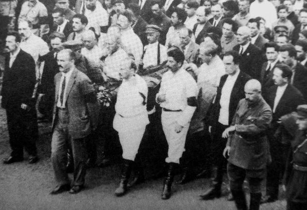 Похороны Феликса Дзержинского. Москва, июль 1926 г.