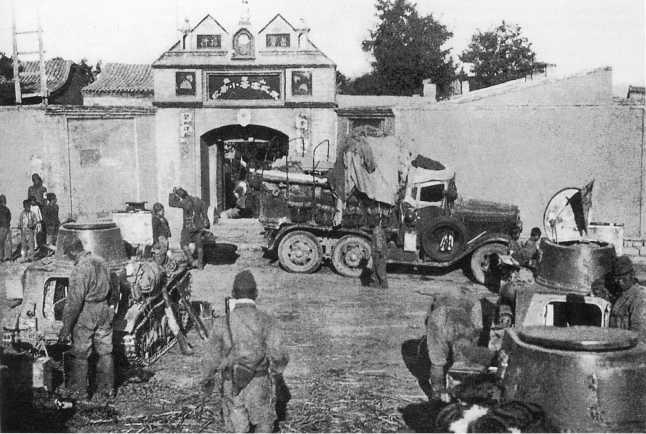 Японские легкие танки Тип 94. 1939 г.