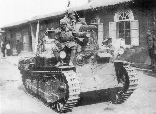 Японские средние танки Тип 89 «Ко». 1939 г.
