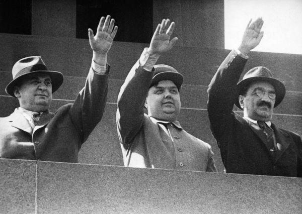 Берия, Маленков и Микоян. 1953 г.