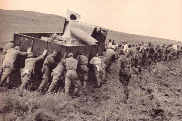 Японская колонна в дороге. 1939 г.