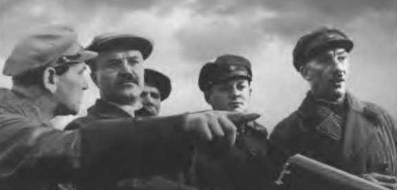 На канале Москва-Волга вместе с Рудзутаком, Межлауком, Антиповым и Ягодой. Сентябрь 1935 г.
