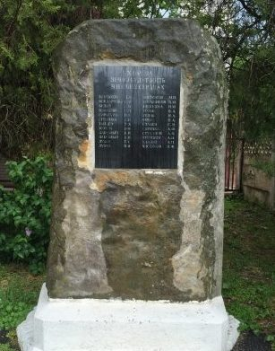 г. Абинск. Памятник погибшим сотрудникам ДОКа, установленный по улице Вокзальная 16.