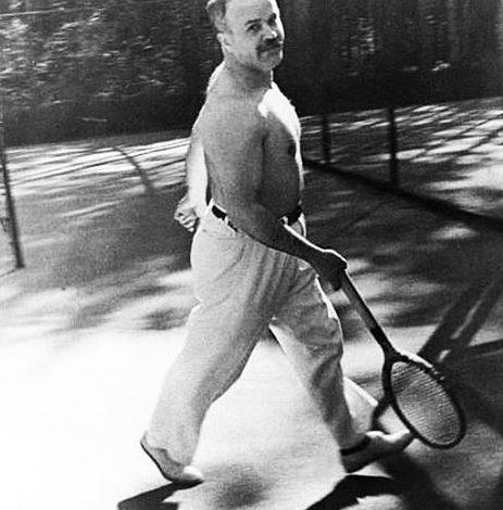 Молотов на отдыхе. 1936 г.