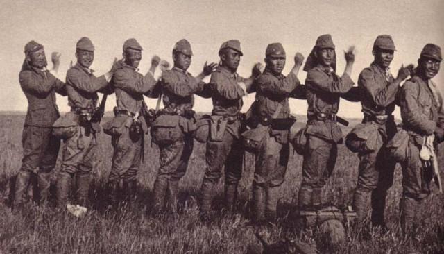 Японские солдаты. 1939 г.